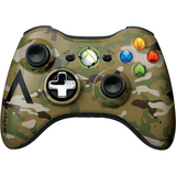 Microsoft Xbox 360 Special Edition Camouflage Wireless Controller 43G-00049