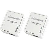 DIAMOND HP500AV 500Mbps AV Powerline Ethernet Adapter Kit