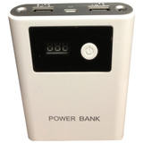 4XEM Universal Portable Phone/Tablet Charger (White)