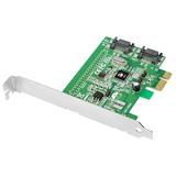 SIIG DP SATA 6Gb/s 2-Port Hybrid PCIe SC-SA0S11-S1