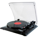 Ion Audio iT51 Pure LP USB Conversion Turntable for Mac and PC IT51