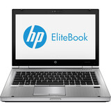 "HP EliteBook D8C07UT 14"" LED Notebook - Intel Core i5 2.60 GHz - Platinum D8C07UT#ABA"