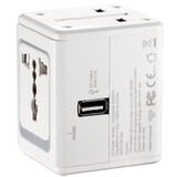 Conair LectronicSmart By Conair All-in-One Adapter With Built-in USB Port - For iPhone, iPad, iPod, USB Device