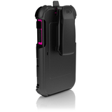 Ballistic Hard Core Carrying Case (Holster) for iPhone - Black, Pink