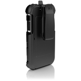 Ballistic Hard Core Carrying Case (Holster) for iPhone - Black, White