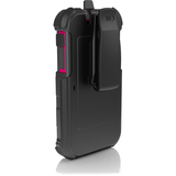 Ballistic Hard Core Carrying Case (Holster) for iPhone - Charcoal, Raspberry
