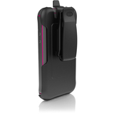 Ballistic Every1 Carrying Case (Holster) for iPhone - Charcoal, Raspberry
