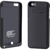4XEM External Backup iPhone 5 Battery Case/Cover (Black)