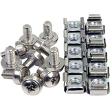 4XEM 50 Pkg M5 Rack Mounting Screws and Cage Nuts For Server Racks/Cabinets