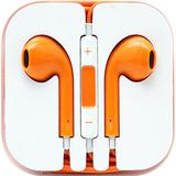 4XEM Orange Earphones For iPhone/iPod/iPad