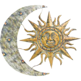 Gardman Aztec Sun & Moon Wall Art - 26