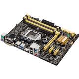 Asus B85M-G Desktop Motherboard - Intel B85 Express Chipset - Socket H3 LGA-1150