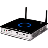 Zotac ZBOX Plus ZBOX-ID88-PLUS-U Nettop Computer - Intel Core i3 i3-3220T 2.80 GHz - Mini PC - Black, Silver ZBOX-ID88-Plus-U