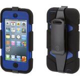 Griffin Survivor Carrying Case for iPod - Blue, Black