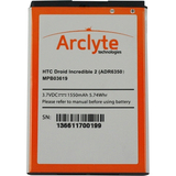Arclyte Battery for HTC MPB03619