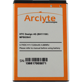 Arclyte Battery for HTC MPB03641