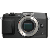 Olympus PEN E-P5 16.1 Megapixel Mirrorless Camera (Body Only) - Black V204050BU000