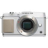 Olympus PEN E-P5 16.1 Megapixel Mirrorless Camera (Body Only) - White V204050WU000