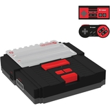 HYPERKIN SNES/ NES RetroN 2 Gaming Console (Black)
