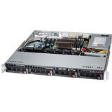 Supermicro SuperServer 5018D-MTF Barebone System - 1U Rack-mountable - Intel C224 Express Chipset - Socket H3 LGA-1150 - 1 x Processor Support - Black