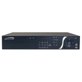 Speco 8 Channel NVR with Built-In PoE Switch and Digital Deterrent N8NSP1TB