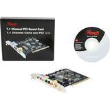 Rosewill RC-702 7.1 Channels 16-bit 96KHz PCI Interface Sound Card RC-702