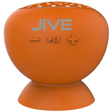 Digital Treasures Lyrix JIVE Speaker System - Wireless Speaker(s) - Orange 09012