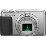 Olympus Traveller SH-50 iHS 16 Megapixel Compact Camera - Silver V107050SU000