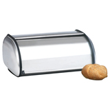 Anchor Brushed Steel Bread Box - Euro Design