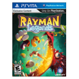 Ubisoft Rayman Legends - Action/Adventure Game Retail - NVG Card - PS Vita