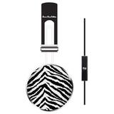 Bonnie Marcus DJ Headset Zebra Via ErgoGuys