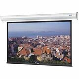 "Da-Lite Contour Electrol Electric Projection Screen - 84"" - 4:3 - Wall Mount, Ceiling Mount 88360LS"