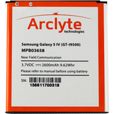 Arclyte Battery for Samsung MPB03658