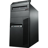 Lenovo ThinkCentre M93p 10A7000QCA Desktop Computer - Intel Core i7 i7-4770 3.4GHz - Mini-tower - Business Black 10A7000QCA