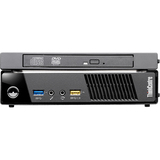 Lenovo ThinkCentre M93p 10AB0011US Desktop Computer - Intel Core i7 i7-4765T 2 GHz - 8 GB DDR3 SDRAM - 128 GB SSD - Windows 7 Professional 64-bit upgradable to Windows 8 Pro - Tiny - Business Black
