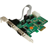 StarTech.com 2 Port Industrial PCI Express (PCIe) RS232 Serial Card w/ Power Output and ESD Protection PEX2S553S