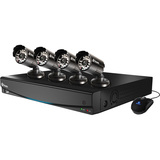 Swann DVR8-1425 8 Channel D1 Digital Video Recorder & 4 x PRO-510 Cameras SWDVK-814254-US