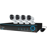 Swann DVR9-4200 9 Channel 960H Digital Video Recorder & 4 x PRO-642 Cameras SWDVK-942004-US