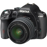 Pentax K-500 16.3 Megapixel Digital SLR Camera (Body with Lens Kit) - - 15507