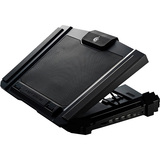 CM Storm SF 17 - Gaming Laptop Cooling Pad with 180mm Fan and 4 Ergonomic Height Settings R9-NBC-SF7K-GP
