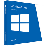 Microsoft Windows 8.1 Pro 32/64-bit - Complete Product - 1 PC FQC-07336