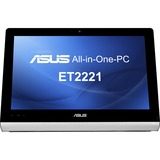 Asus ET2221-01 All-in-One Computer - AMD A-Series A8-5550M 2.10 GHz - Desktop - Black ET2221-01