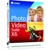 Corel Photo Video Suite v.X6 - Complete Product - 1 User