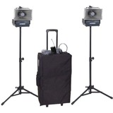 AmpliVox Wireless Speaker Half-Mile Hailer Kit