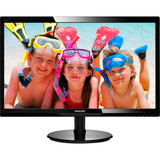 "Philips 246V5LHAB 24"" LED LCD Monitor - 16:9 - 5 ms 246V5LHAB"