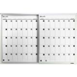 Lorell Magnetic Dry-Erase Calendar Board 52503