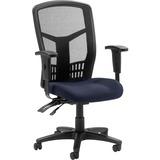 LLR8620001 - Lorell 86000 Series Executive Mesh Back Chair