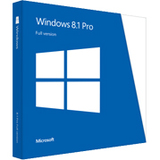 Microsoft Windows 8.1 Pro 64-bit - License and Media FQC-06950