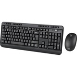 Adesso 2.4 GHz Wireless Desktop Keyboard & Mouse Combo WKB-1300UB