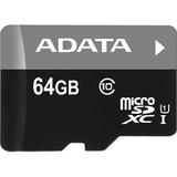 ADATA Premier Micro SDXC UHS-1 U1 CLASS10 64GB Memory Card w/ Adapter